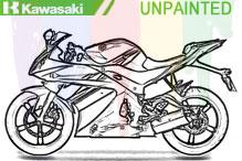 Kawasaki Carenado Sin Pintar