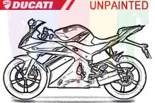 Ducati Carenado Sin Pintar