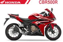 CBR500R Carenado