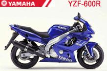 YZF600R Carenado